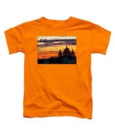 Toddler T-Shirt - Cartagena Colombia Night Skyline