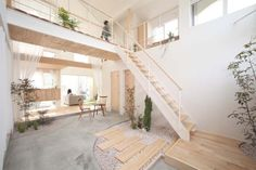 Staying true to the principles of Japanese architecture, yet adding that little extra that makes a home comfortable and welcoming, Japanese studio ALTS Design Office designed a charming family home in Shiga, Honshu Island. Kofunaki House has a total sur