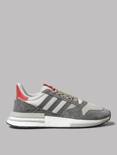 c3162780d078e UK next day delivery • Super-fast Worldwide shipping • adidas ZX 500 RM (Grey  Four) £119 from Oi Polloi