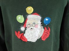 Ugly Christmas Sweater Vintage Sweatshirt by purevintageclothing holiday Party tacky