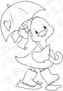 Whimsy Stamps - Rubber Stamps, Clear Stamps, and Free Kids Coloring Pages, Farm Animal Coloring Pages, Colouring Pages, Coloring Books, Whimsy Stamps, Digi Stamps, Painting Patterns, Fabric Painting, Duck Crafts