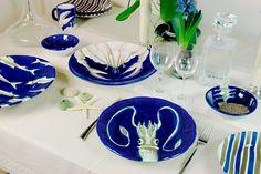 Ceramica Artistica Solimene. Select pieces available at Colori Della Ceramica.