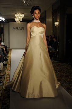 White Or Ivory Wedding Dress For Dark Skin