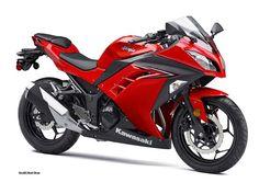 2016 Kawasaki Ninja® 300 Passion Red