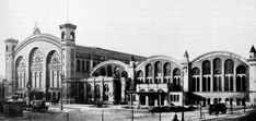 Stettiner Bahnhof nach der Erweiterung um 3 Hallen 1904