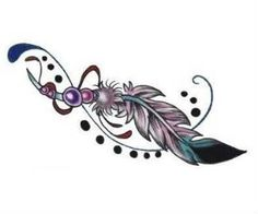 Feathers Tattoo Design Tatoo. This tattoo can be a source of inspiration to you.