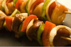 **Start to Finish**: 45 minutes, plus 2 hours marinating time**Servings**: 4 to 6**Difficulty**: EasyKabobs are all about variety -- beef, chicken or pork, peppers, mushrooms and onions, just about anything works. During baking, the oven produces intense caramelization by enveloping the kabobs in dry heat, and a marinade increases the flavor on all...