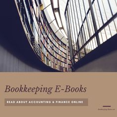 Bookkeeping Ebooks | Read Accounting And Finance Online PDF Books