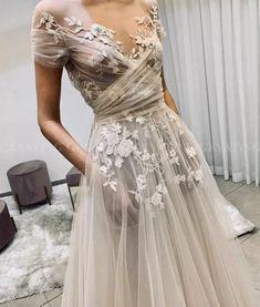 Western Wedding Dresses, Dream Wedding Dresses, Boho Wedding Dress, Bridal Dresses, Wedding Gowns, Prom Dresses, Lace Wedding, Formal Boho Dress, Short Girl Wedding Dress