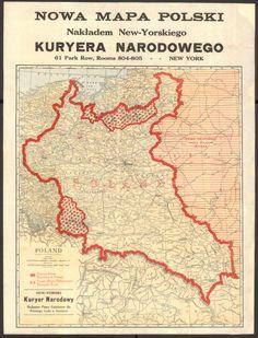 Polska w okresie walki o granice (ok. 1921 r. Poland Map, Poland Language, Poland History, Alternate History, Old Maps, Modern History, Historical Maps, Retro, Geography