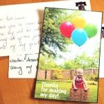 DIY: Postcard Thank You Notes