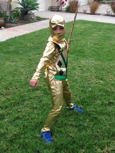 golden ninja costume - Google Search Halloween Kids, Military Jacket, Dress Up, Hipster, Costumes, Google Search, Pattern, Jackets, Style