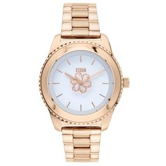 Ladies Storm flower motif rose gold plated watch 47297/RG #storm #stormwatches #watches #STORMlondon #stormldn #watch
