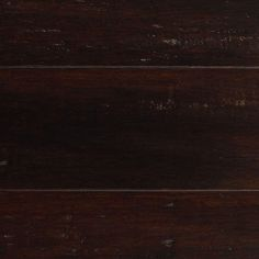 Home Decorators Collection Handscraped Strand Woven Warm Espresso 3/8 in. x 5-1/8 in. x 36 in. Click Engineered Bamboo Flooring (25.625 sq.ft/case)-AM1318E - The Home Depot