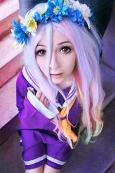 no game no life sora y shiro cosplay - Buscar con Google Diy Costumes, Cosplay Costumes, Shiro Cosplay, Anime Cosplay, Nogame No Life, Best Cosplay, Spring Flowers, Otaku, Costumes