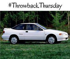 #TBT: 1992 #Hyundai Scoupe