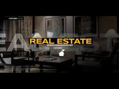 After Effects template | Real Estate