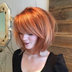25+ Top Hairstyles for Bob Haircuts With Bangs - Reny styles