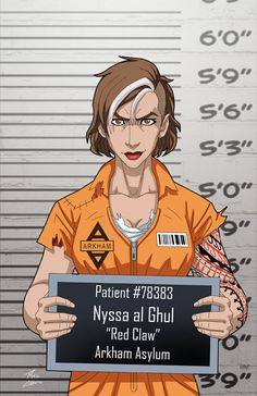 Nyssa Al Ghul (Earth-27) locked up by phil-cho on DeviantArt