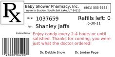 Funny Prescription Label Template | The Fun Cheap or Free Queen: DIY Project: Pill bottle party favors: