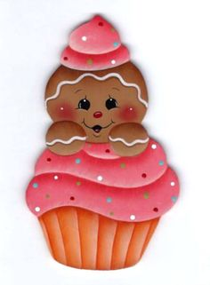 dressed for santa gingerbread Gingerbread Decorations, Gingerbread Ornaments, Christmas Gingerbread, Christmas Decorations, Christmas Clipart, Christmas Printables, Christmas Art, Christmas Ornaments, Diy And Crafts