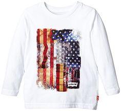 Levi's Diego - T-shirt - Uni - Garçon - Blanc (White) - FR: 4 ans (Taille fabricant: 4 ans) Levi's http://www.amazon.fr/dp/B00VTIPR0K/ref=cm_sw_r_pi_dp_EIxfwb11T9ACH