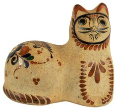 Scandanavian Stoneware Cat