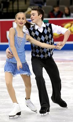 Lewis and Bye win novice ice dance title at 2013 US Nationals