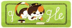 たま駅長 生誕 18周年 #GoogleDoodle