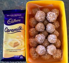 Home cook shares recipe for Caramilk chocolate bliss balls made in slow cooker internet going crazy