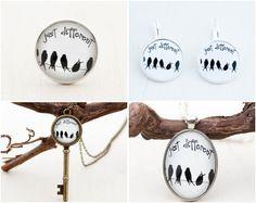 Just different #inspirationaljewelry #birdlove https://www.etsy.com/shop/LadyArtTalk