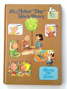 It's Arbor Day Charlie Brown by Charles Schulz by Rubyapplevintage, $8.00