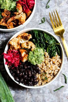 20 + Easy and Healthy Power Bowl Recipes under 30 Minutes that are all clean eating recipes with fresh and wholesome foods.