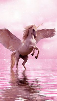 Find images and videos about wallpaper, background and fantasy on We Heart It - the app to get lost in what you love. Unicorn And Fairies, Unicorn Fantasy, Unicorn Art, Mythical Creatures Art, Magical Creatures, Fantasy Creatures, Unicorn Wallpaper Cute, Horse Wallpaper, Wallpaper Awesome