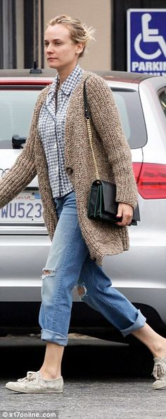 Dressed down Diane Kruger nails the casual