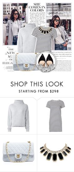 """""""She comes in Color"""" by l33l ❤ liked on Polyvore featuring Le Kasha, M.i.h Jeans, Chanel, Kate Spade and Zara"""