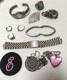 Jewelry Parts Destash Lot Watch Parts, Necklaces, Rings, Bracelet, Findings  | eBay