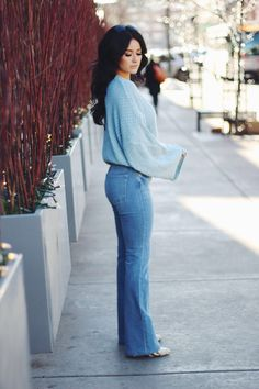 Bell Sleeves and Bell Bottoms