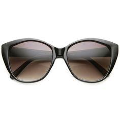 Women's Retro 1950's Indie Fashion Cat Eye Sunglasses - zeroUV