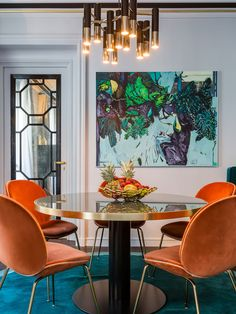 Wall art /MCM dining room