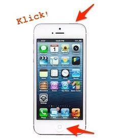 Quicktipp: Screenshot am iPhone erstellen