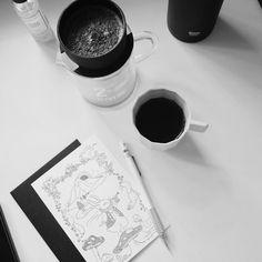 #present#coffee#holidaycards#thankyou#hay#kinto#rivers#vscocam#bw#photography#pingan#xycai