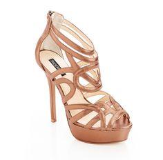bronze heels <3