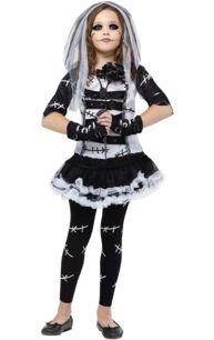 Child Bride of Frankenstein Costume