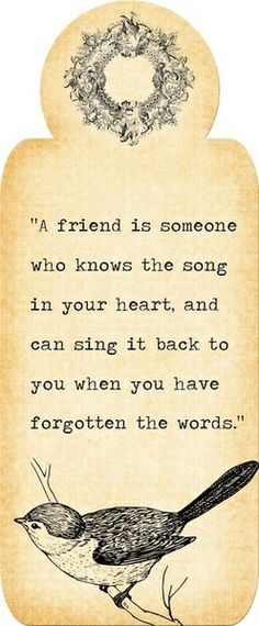 so true and so beautifully said, Trudy you always remember the words to my songs... So grateful to you.