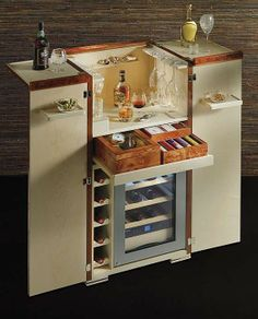 Agresti Bar Armoire With Bar Accessories - Frontgate