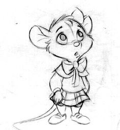 Olivia from The Great Mouse Detective