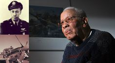 """Goodbye, """"Tuskegee Airmen"""" Pilot Lowell Steward [1919-2014] - http://www.warhistoryonline.com/war-articles/goodbye-tuskegee-airmen-pilot-lowell-steward-1919-2014.html"""