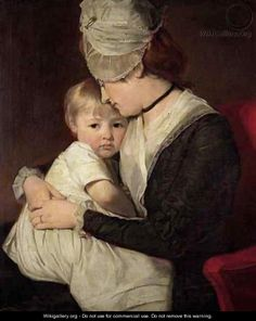Portrait Of Mrs Anne Carwardine (1752-1817) And Her Eldest Son, Thomas (1772-1822) - George Romney