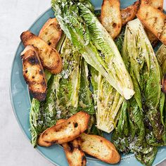 Adding smoky char—while keeping crisp lettuce—was our goal for a foolproof Grilled Caesar Salad recipe.